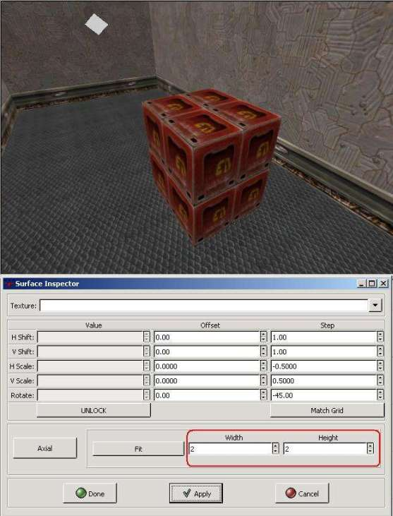 (Image textured box 22)